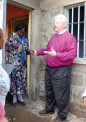 Kansas to Kenya visits Agatha Amani House